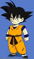 Chibi Son Goku by xPixieSoulx