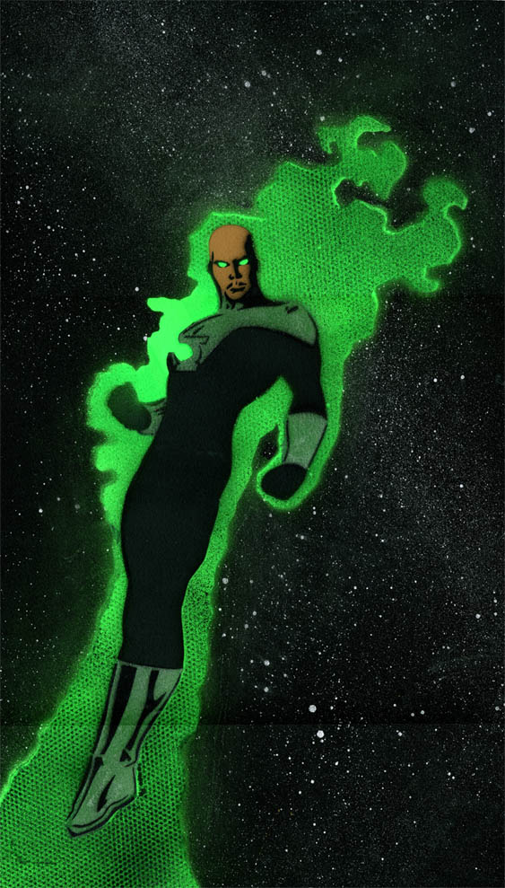 Green Lantern by lefl-wepn