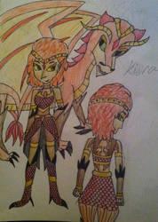 Kiera the Dragon Princess by RunawayComics