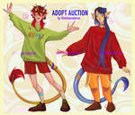 AUCTION [OPEN] SPARKING DRAGONS by mihanvaleron