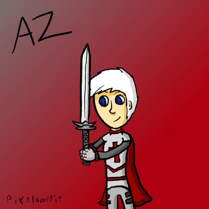 Az [Friend's OC] by PixelAndPie