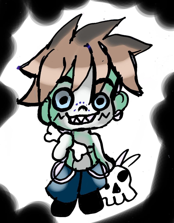a zombi to adopt open by SweetAdoptParadies
