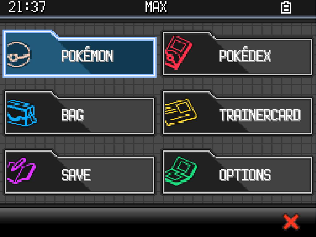 A Custom Menu Hud Script: Pokemon BW2 Menu For Essentials