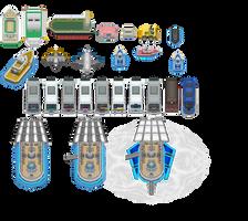 Pokemon BW2 - Vehicles by shiney570