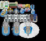 Pokemon BW2 - Vehicles