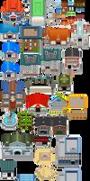 Pokemon BW2 - Buildings