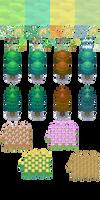Pokemon BW2 - Season Tiles