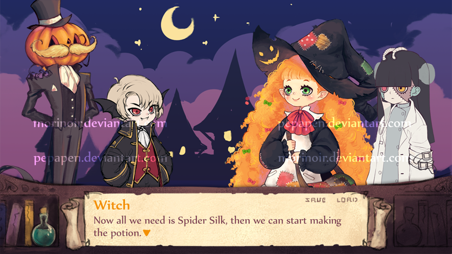Witch Mockup by pepapen