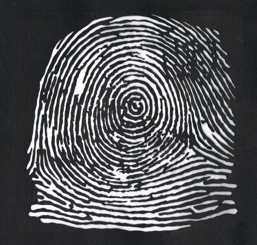 Identity series - Fingerprint by Maleijn