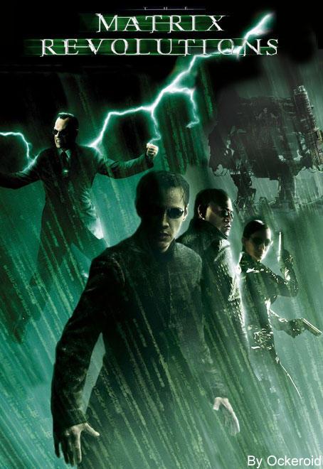 Matrix Revolutions DVD Cover by Ockeroid