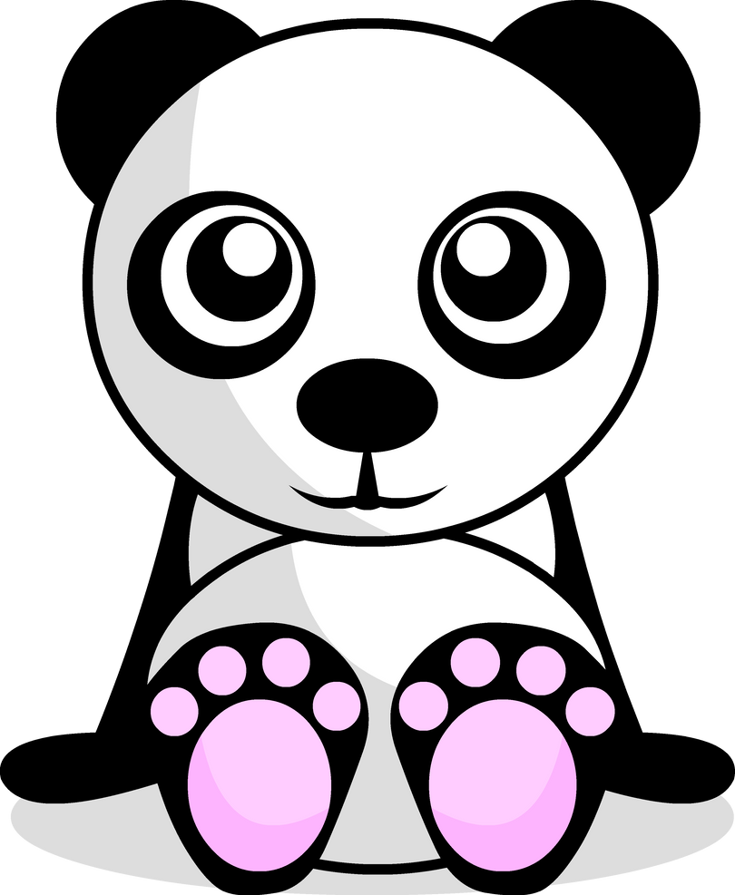 Cute Panda By Pandaaah