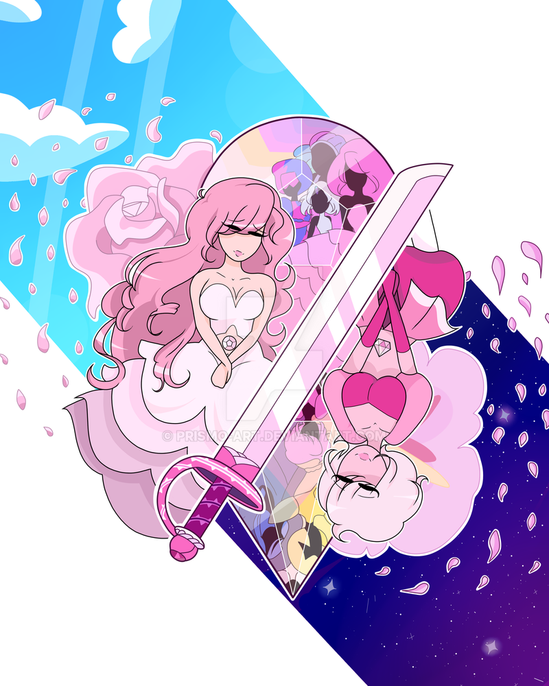 Rose Quartz Pink Diamond By Prismo Art On Deviantart