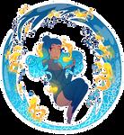 DestinyBlue Redraw Challenge by Prismo-Art
