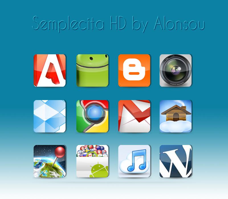 Semplecita HD Icon pack by Alonsou