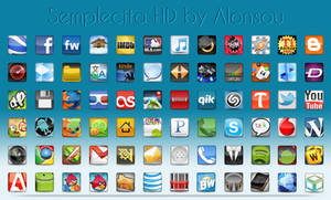 Semplecita HD Icon pack