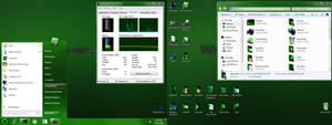 7tsp Green Theme Source Pack