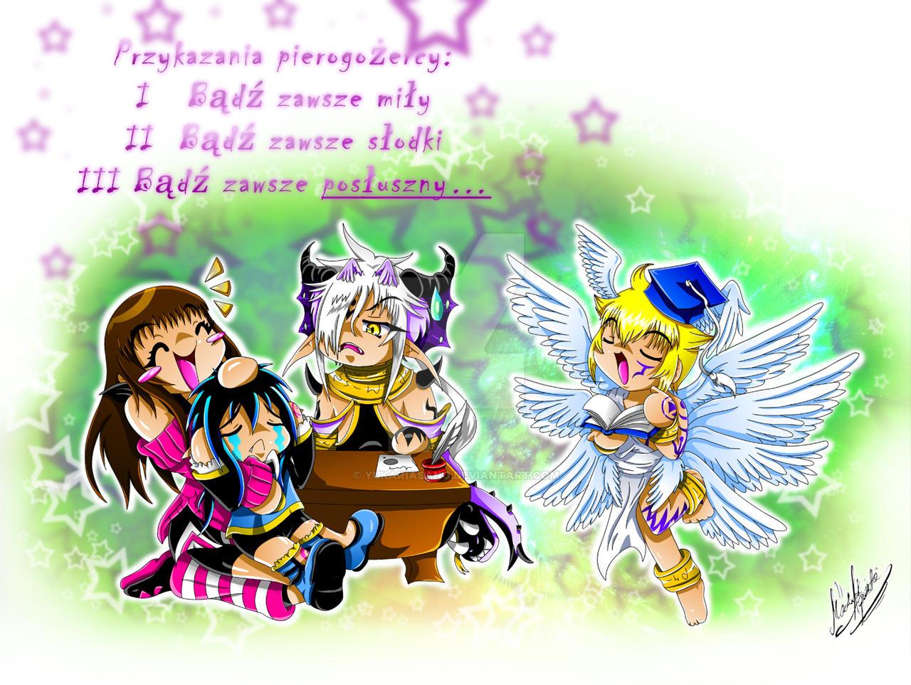 Przykazania Pierogozercy by YukariAsano