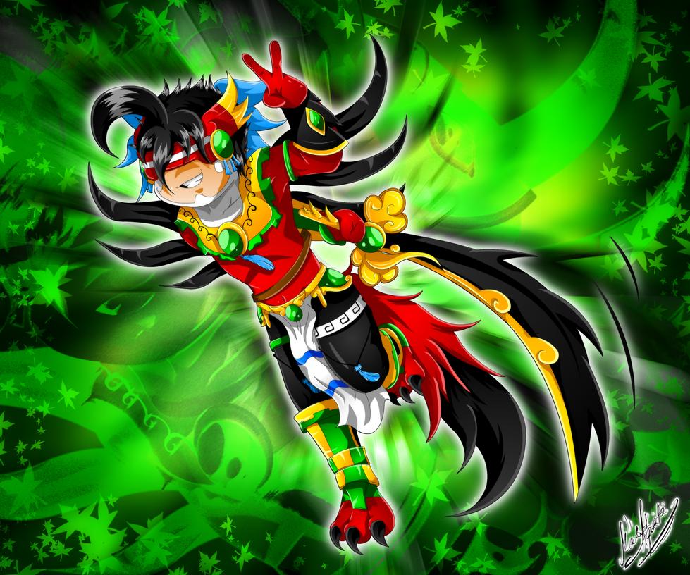 Commission: Itscuintlapimon by YukariAsano