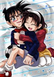 Request: Ayumi and Conan