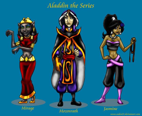 Aladdin Fanart by Caden13