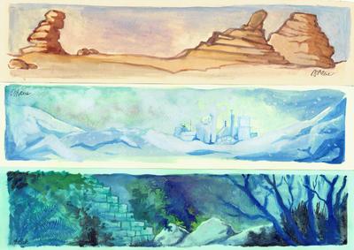 Planets by silene-acaulis