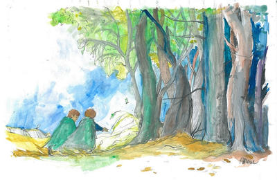 Into Fangorn by silene-acaulis