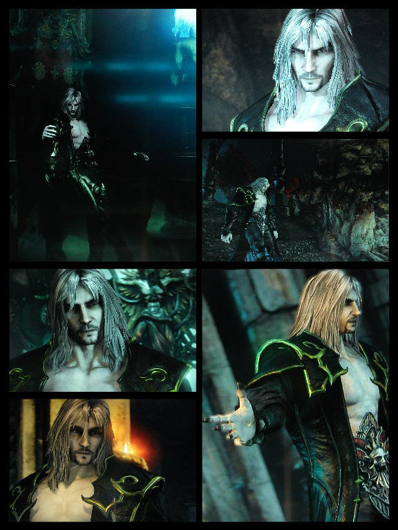 Dark Dracula - Catlevania LoS2 collage