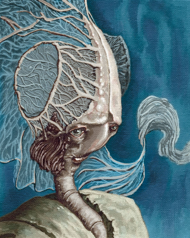 Aquatic Alien by NickTrip