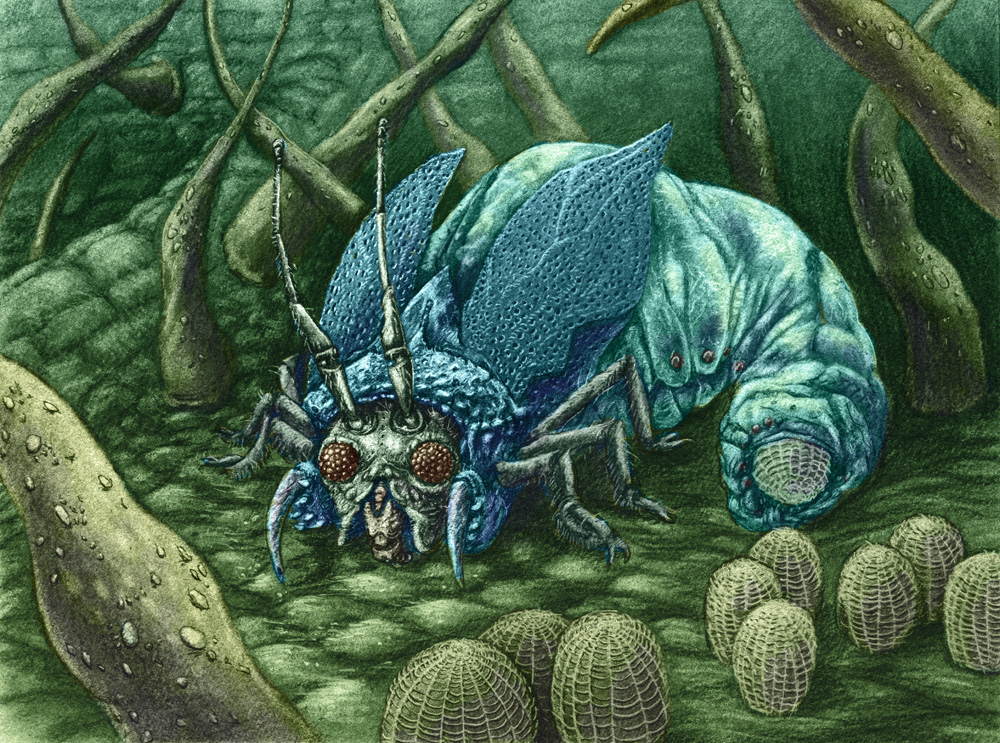 Venomous, Pale Blue, Obese Egg by NickTrip