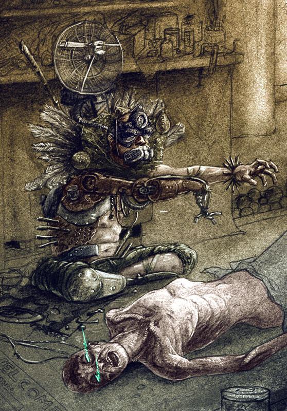 Bionic Shaman by NickTrip