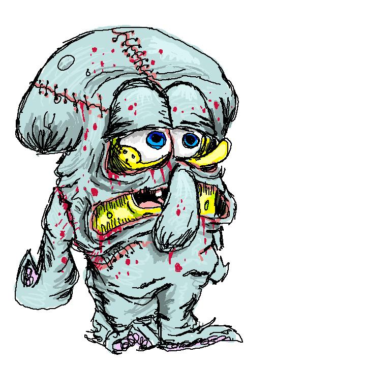 Squidward Suit By Feedrosie On DeviantArt
