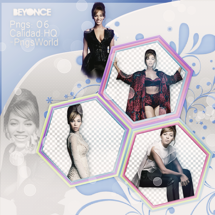 Png Pack 06 - Beyonce by PngsWorld