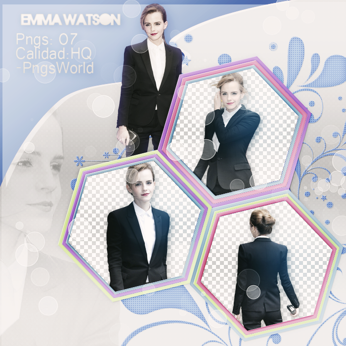 Png Pack 07 - Emma Watson by PngsWorld