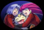 Team Rocket Victory Hug