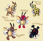 PokemonSubspecies: Ledian