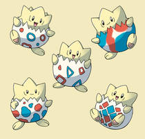 PokemonSubspecies: Togepi by CoolPikachu29