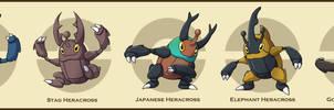 PokemonSubspecies: Heracross