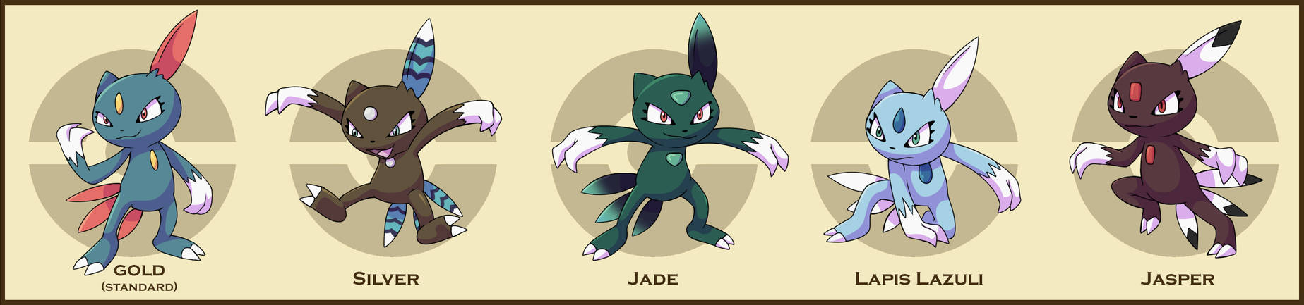 PokemonSubspecies: Sneasel