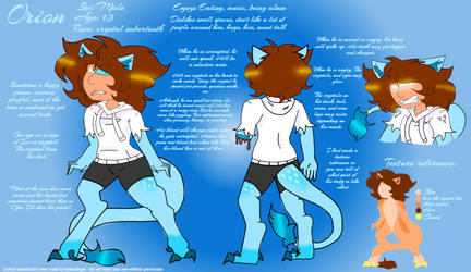 Orion Reference sheet by GreenJapser