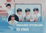 [ 1O ] STRAY KIDS | HYUNJIN PNG PACK