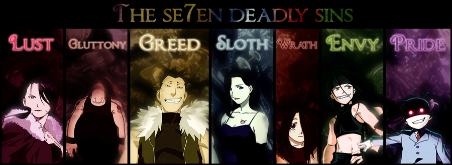 The Seven Deadly Sins - The Seven Sins of Anime ...