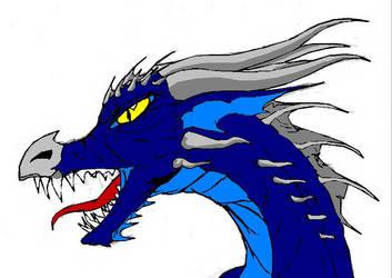 chaosia's dragon by Crymson-Rayne