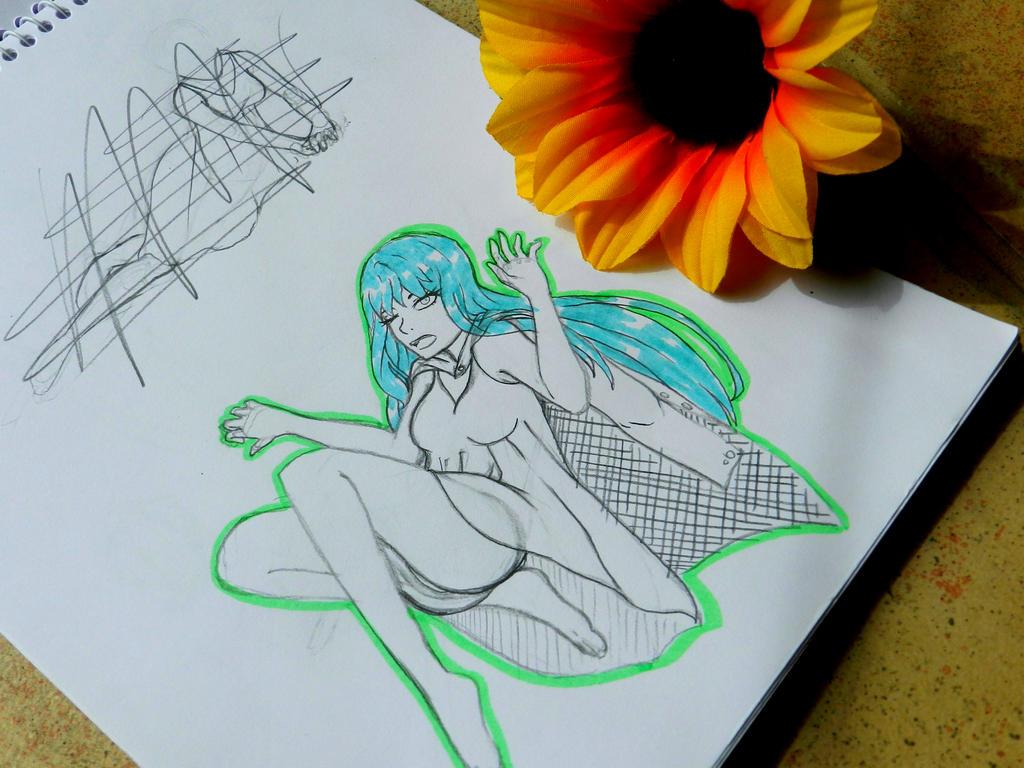 Sprinish Sketch~ by LifeEvans