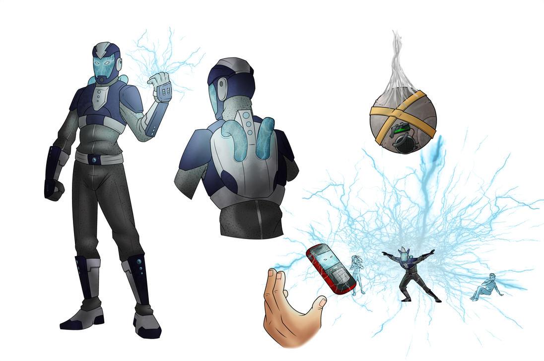 The Spider  Electro Concept Amazing Spider Man 2 Electro Concept Art