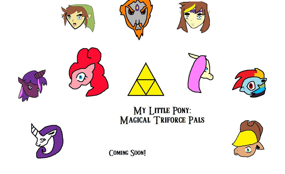 My Little Pony: Magical Triforce Pals Poster by Steamland