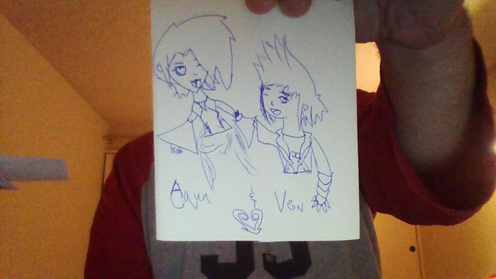 Aqua and Ventus by skysoul25