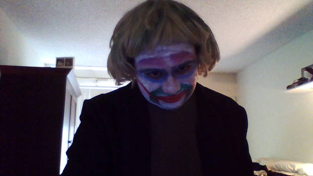 Joker! Halloween Hello