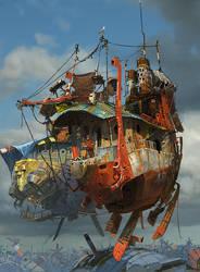 sky harbor. by mcque