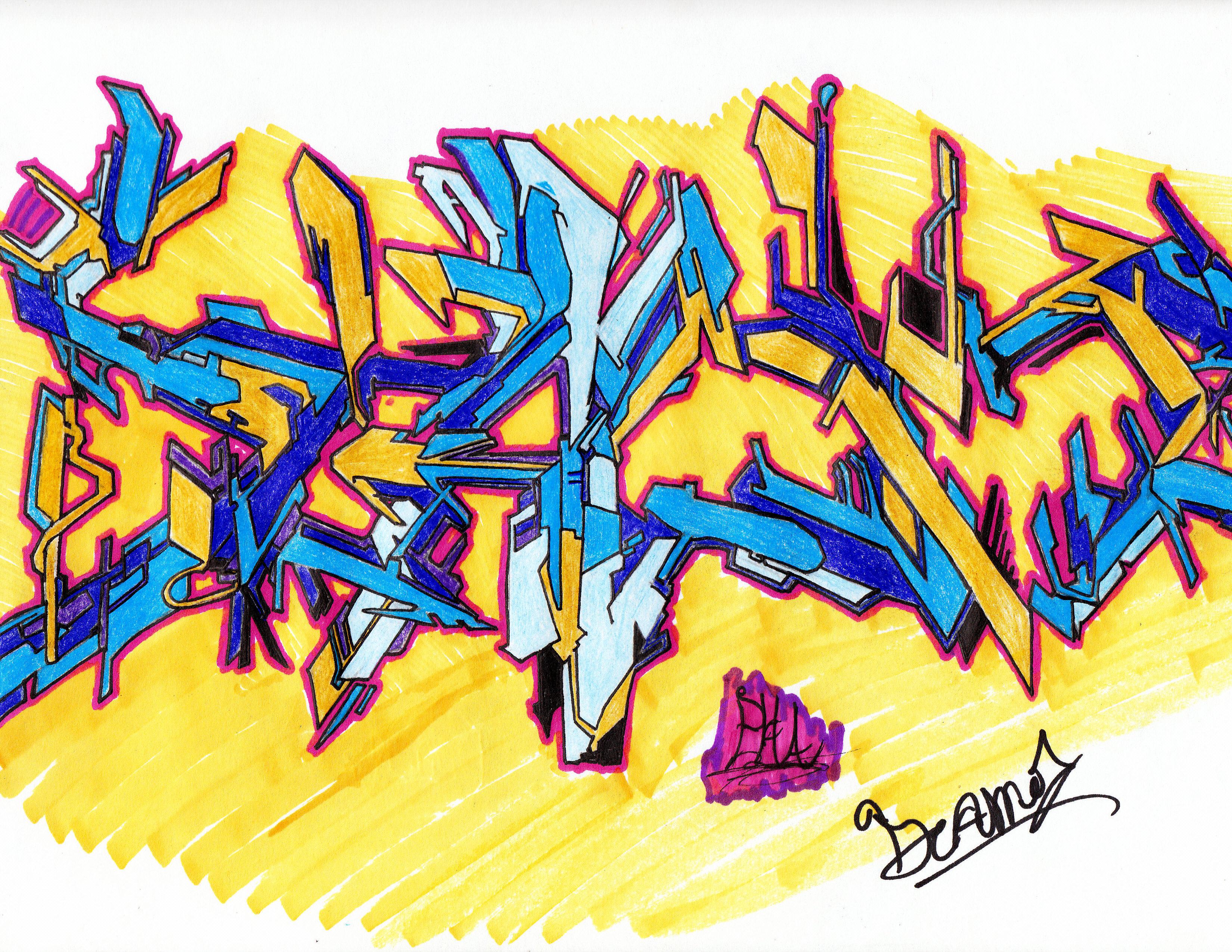Wildstyle Graffiti Art...
