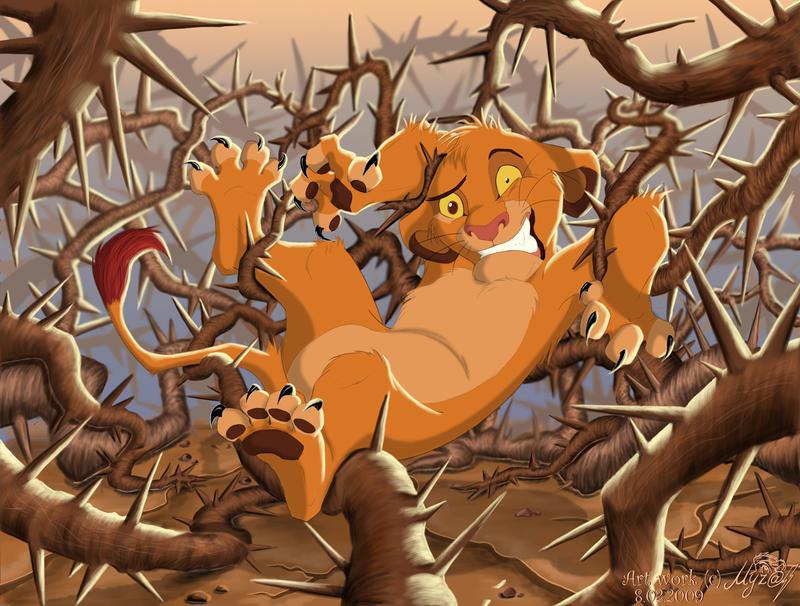 Король лев смешная картинка